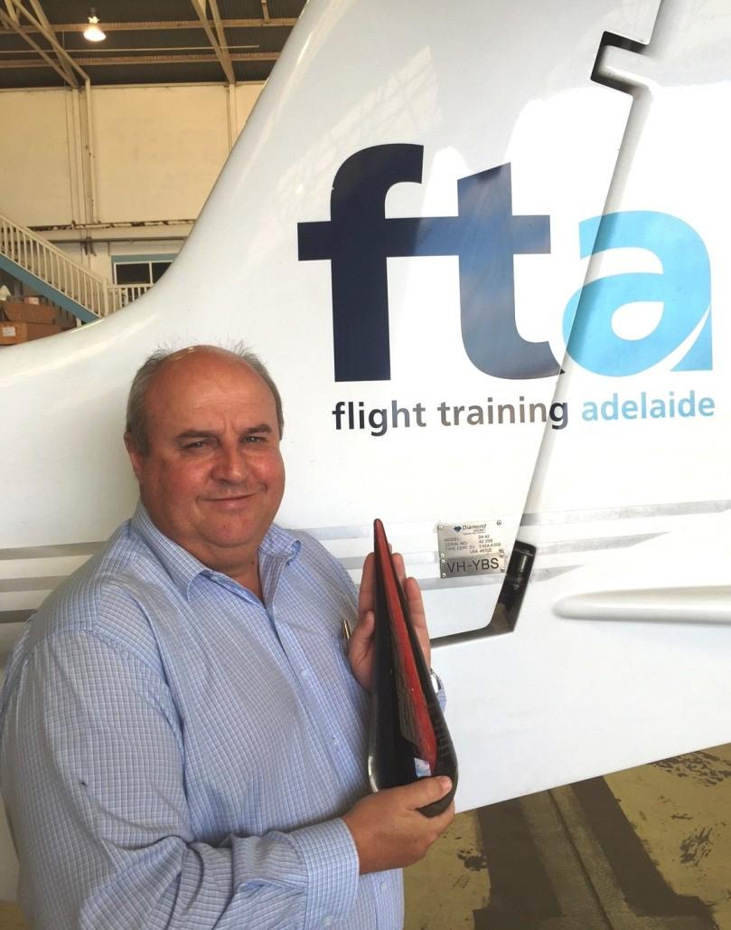 Pine Pienaar, CEO of Flight Training Adelaide