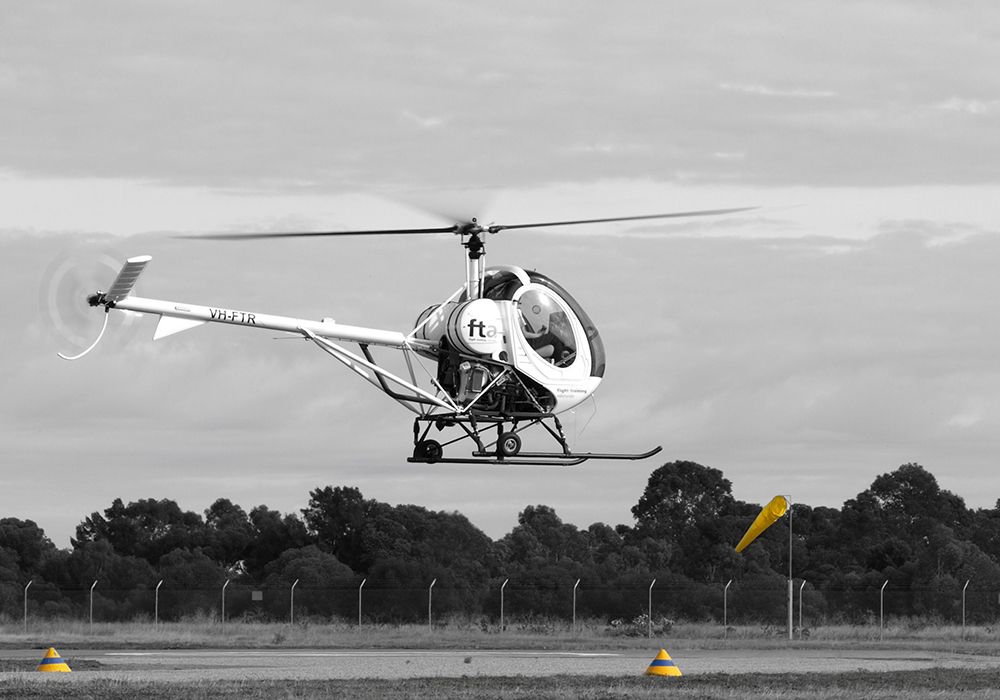 Rotary wing airline training