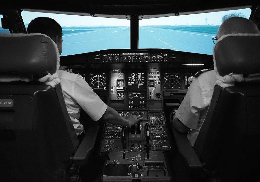 Fixed wing airline training program